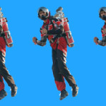 WE COULD HAVE FLOWN AROUND WITH 123 PROTOTYPE JETPACKS.